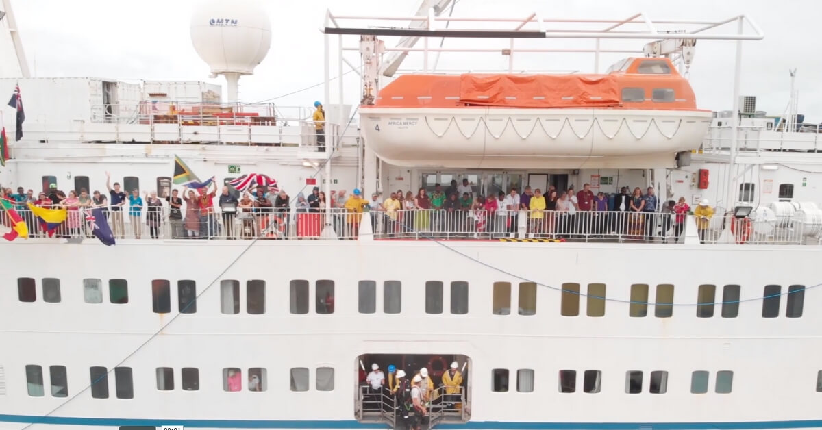 Mercy Ships Celebrates 40 Years of Medical Mission [Video]
