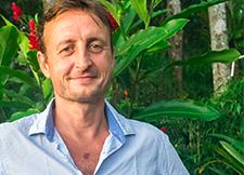 Bali Hope founder Tom Hickman