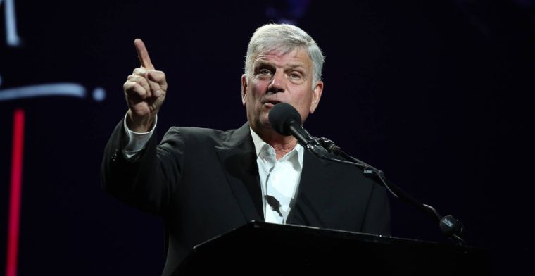 Franklin Graham speaking in Adelaide this week.