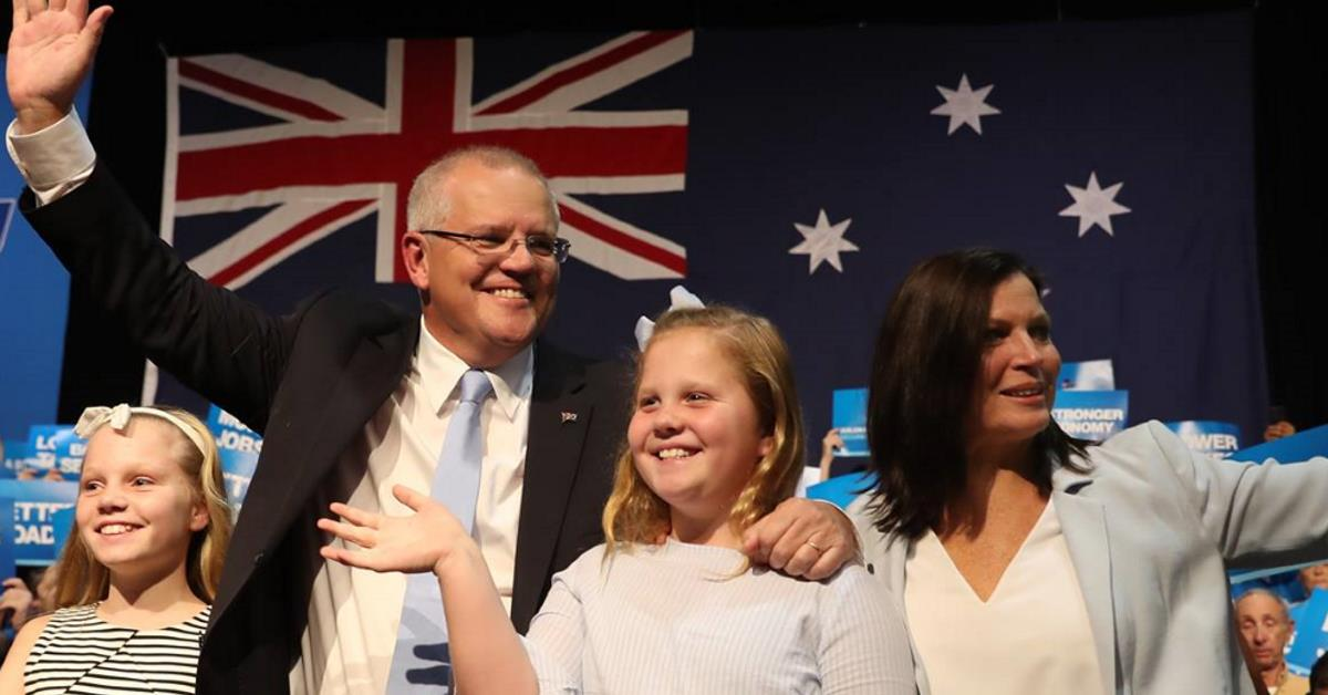 Scott Morrison Won the Election by 'Being Himself'