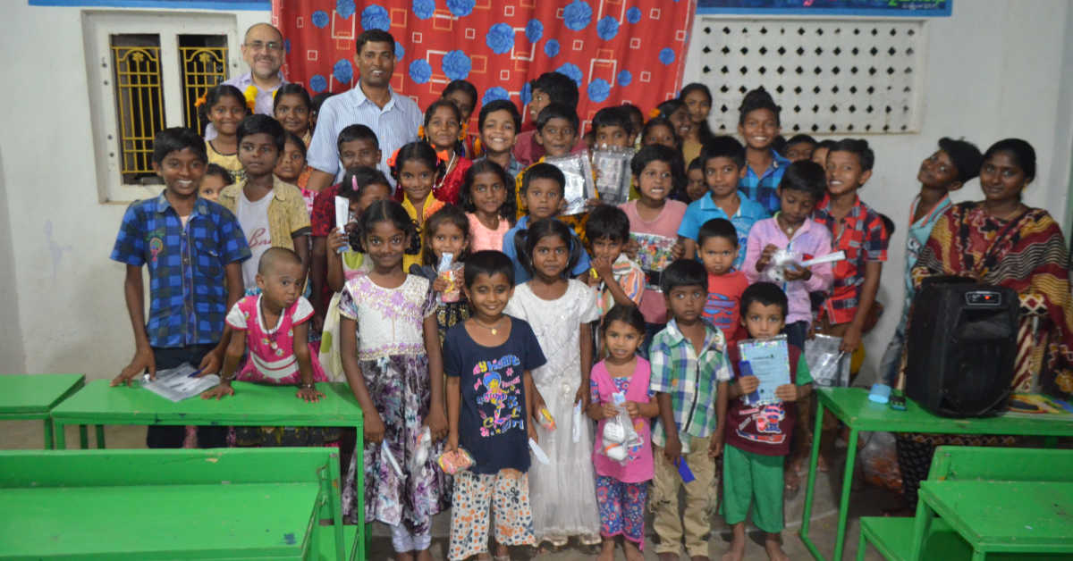 Gifts for the Children at the Good News Children's Care Centre