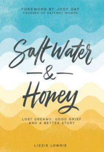 Salt water and honey
