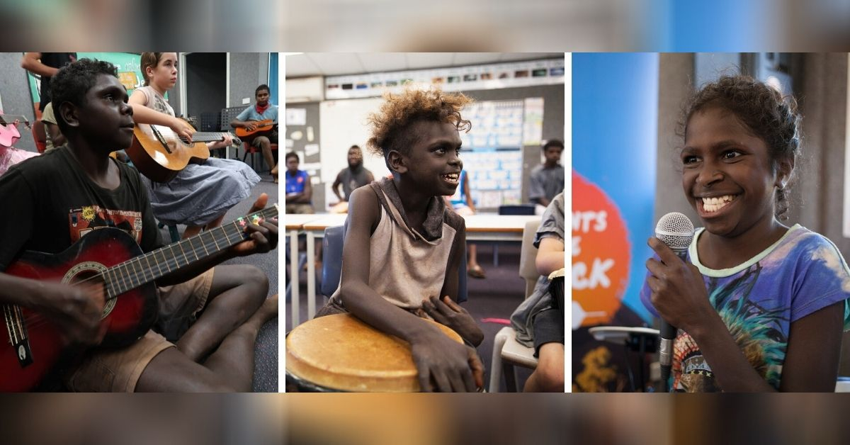 """Bringing Music and Joy to Australia's Remote Indigenous Kids: """"Instruments for the Outback"""""""