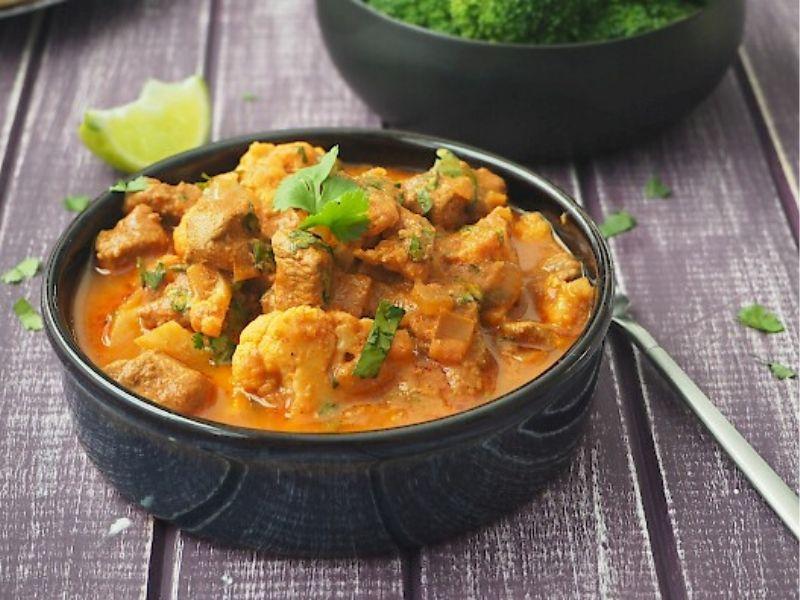 a photo of susan joy's lamb curry