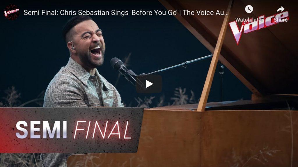 chris sebastian the voice semi finals video