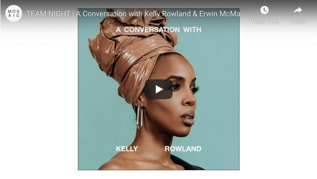 youtube - team night, a conversation with kelly rowland and erwin mcmanus