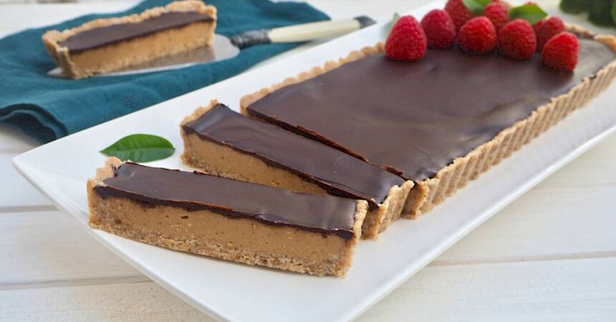 Caramel & Chocolate Tart Recipe
