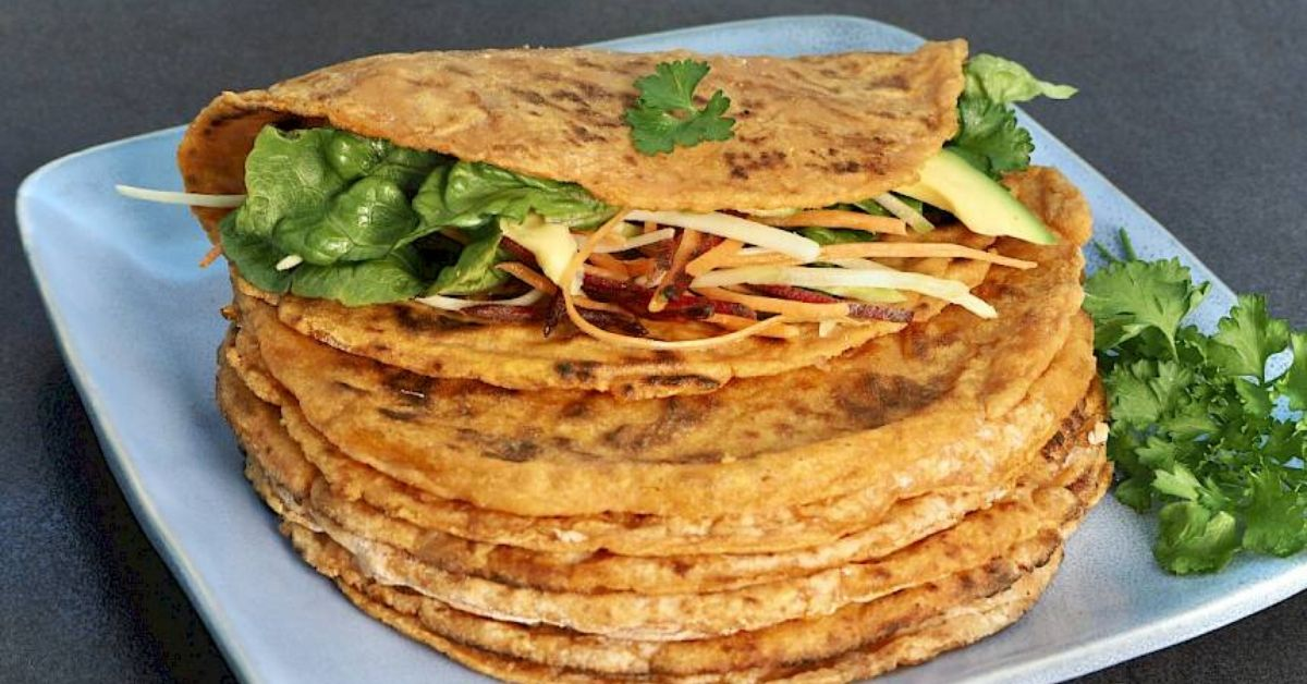 Sweet Potato & Cassava Flour Wraps