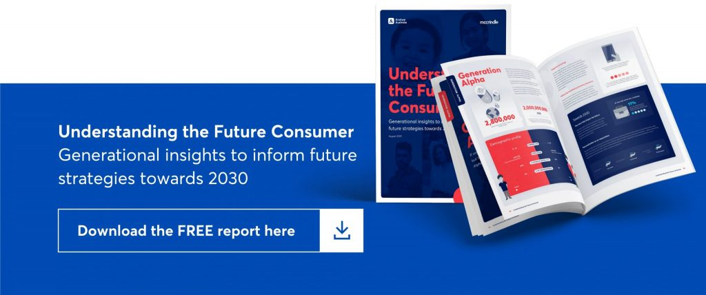 understanding the future consumer. generational insights to inform the future strategies towards 2030. download the report here.